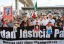 Marcha por la Paz arriba a la CDMX; la encabezan Sicilia y los Lebarón