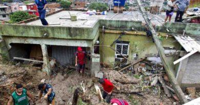 Tormentas en Brasil dejan al menos 30 muertos