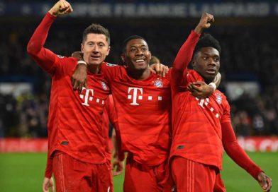 Bayern pone pie y medio en cuartos de Champions