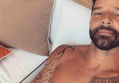 Ricky Martin presume y deja ver a su hijo Renn