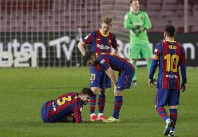 Malas noticias para el Barcelona; Piqué lesionado